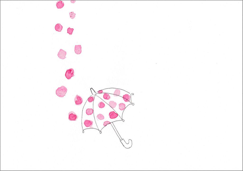 9月あの娘の傘